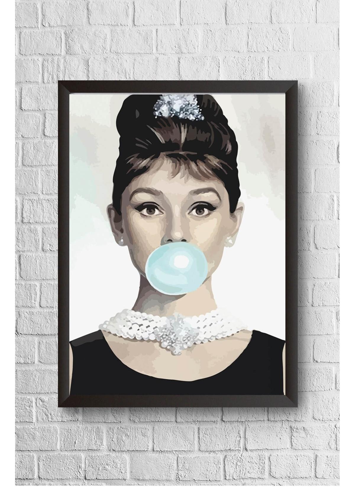 Standart Lyn Home & Decor Audrey Balon Çerçeveli Poster Tablo 23.5X33,5